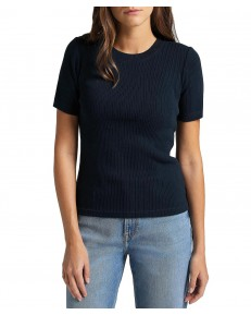 Lee RIBBED TEE L44F Sky Captain