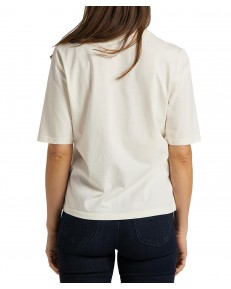 T-shirt Lee HALF SL GRAPHIC TEE L44J Bright White