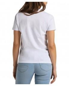 T-shirt Lee SLIM LOGO TEE L44N Bright White