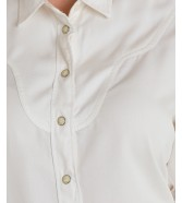 Koszula Lee WESTERN SHIRT L45D Canvas White