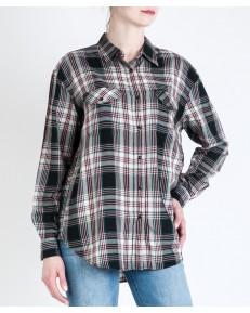 Lee Shirt OVERSIZED WESTERN L45O Black