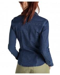 Koszula Lee SLIM WESTERN SHIRT L45R Washed Blue