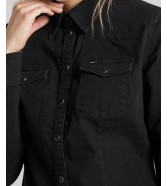 Lee SLIM WESTERN SHIRT L45R Black