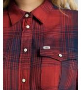 Lee REGULAR WESTERN SHIRT L45S Poppry Red