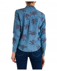 Koszula Lee REGULAR WESTERN SHIRT L45S Blue Yonder