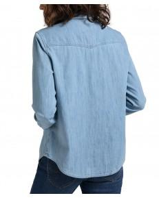 Lee REGULAR WESTERN SHIRT L45S Summer Blue