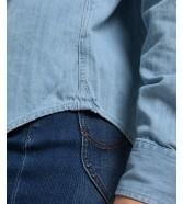 Koszula Lee REGULAR WESTERN SHIRT L45S Summer Blue
