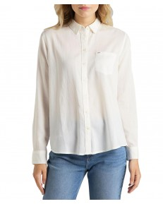 Lee ONE POCKET SHIRT L45T White Canvas