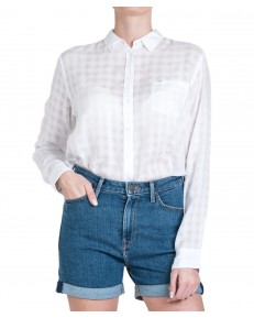 Koszula Lee ONE POCKET SHIRT L45T Bright White