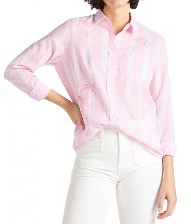 Lee ONE POCKET SHIRT L45T La Pink
