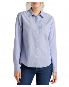 Lee REGULAR SHIRT L46A Washed Blue