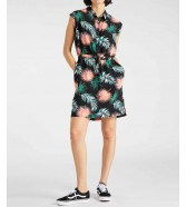 Sukienka Lee TROPICAL DRESS L50D Black