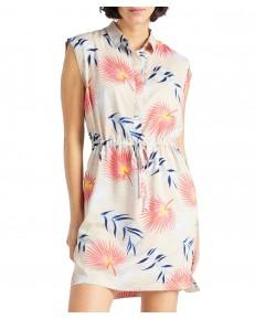 Sukienka Lee TROPICAL DRESS L50D Ecru