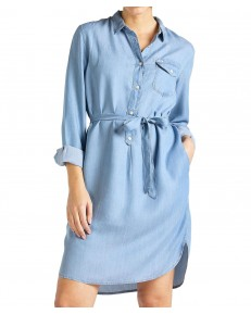 Lee TENCEL DENIM DRESS L50E Summer Blue