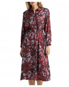 Sukienka Lee LONG WORKER DRESS DRESS L50G Red Ochre
