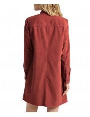 Lee WORKSHIRT DRESS L50S Red Ochre