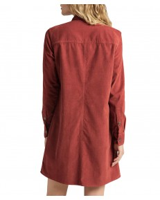 Lee WORKSHIRT DRESS L50S Red Ochre