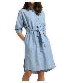 Sukienka Lee LONG DENIM DRESS L50Y Piscine