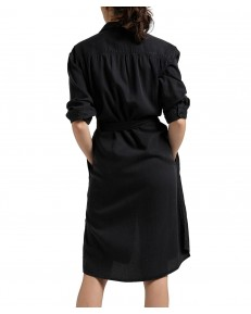 Sukienka Lee LONG DENIM DRESS L50Y Black