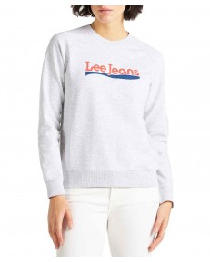 Lee CREW SWEATSHIRT L53K Grey Mele