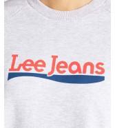 Lee CREW SWEATSHIRT L53K Grey Mele