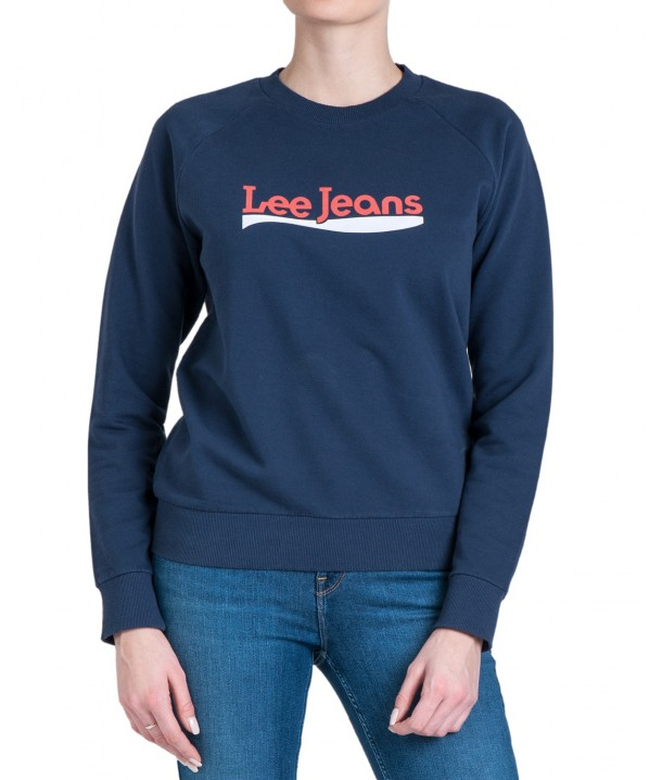 Lee CREW SWEATSHIRT L53K Dark Navy L53KBRNM