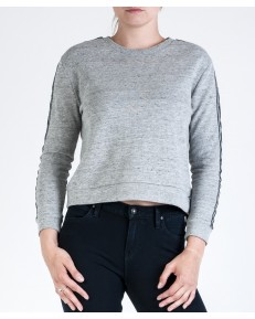 Lee Blouse TAPED SWEATSHIRT L53O Grey Mele