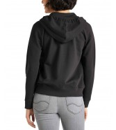 Lee ZIP THROUGH HOODIE L53Q Black