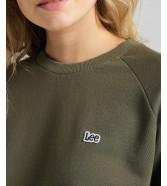 Lee PLAIN NECK SWS L53R Green Olive