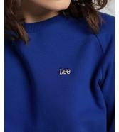 Bluza Lee PLAIN NECK SWS L53R Surf Blue