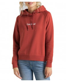 Bluza Lee HOODIE L53W Red Orche