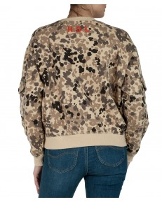 Lee POCKET SWEATSHIRT L53Z Bleached Sand