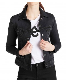 Katana Lee SLIM RIDER JACKET L541 Washed Black