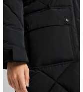 Lee ELONGATED PUFFER JACKET L56F Black