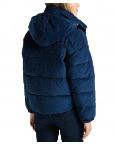 Lee PUFFER JACKET L56V Washed Blue