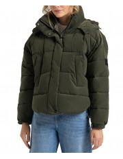 Lee PUFFER JACKET L56V Serpico Green