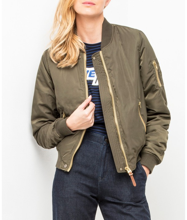 Lee BOMBER JACKET L58S Army Green L58SANDD