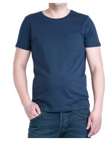 Lee PLAIN POCKET TEE L60C Navy