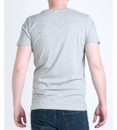 Lee PLAIN POCKET TEE L60C Grey Mele