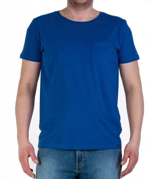Lee PLAIN POCKET TEE L60C Night Blue L60CBCDY