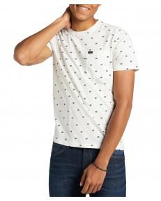 T-shirt Lee SS PAISLEY TEE L60M Ecru
