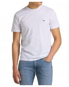 T-shirt Lee PATCH LOGO TEE L60U White