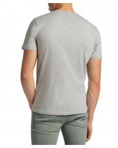 T-shirt Lee PATCH LOGO TEE L60U Grey Mele