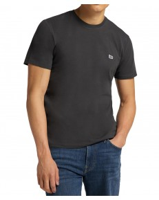 Lee PATCH LOGO TEE L60U Washed Black