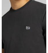 Lee PATCH LOGO TEE L60U Washed Black