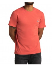 T-shirt Lee PATCH LOGO TEE L60U Washed Red