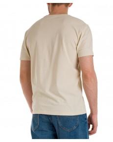 T-shirt Lee PATCH LOGO TEE L60U Beige