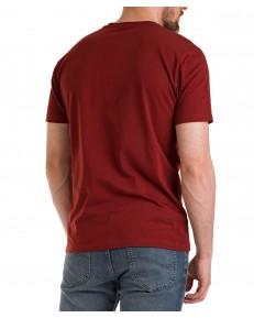 T-shirt Lee PATCH LOGO TEE L60U Fired Brick