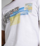 T-shirt Lee PICTURE TEE L60Z White