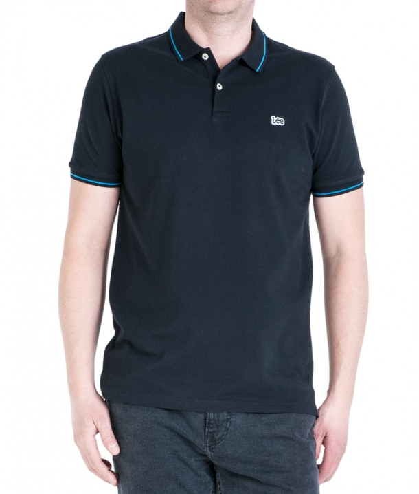 Lee PIQUE POLO L61A Black L61ARL01
